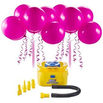 Bomba de Ar e Balões Rosa Bunch O Balloons Party