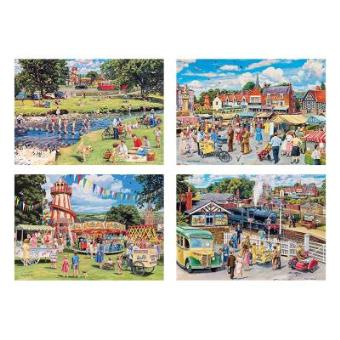 Stop Me & Buy One Jigsaw Puzzles 4 x 500 Pieces Gibsons Games
