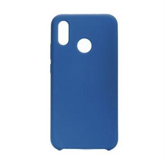 Capa Silicone Forcell para Huawei P20 Lite Azul Escura