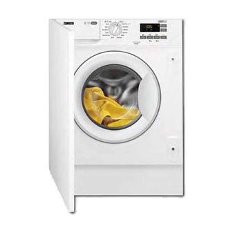 Máquina de Lavar Roupa Encastrável Zanussi ZWT816PCWA 8Kg Branco