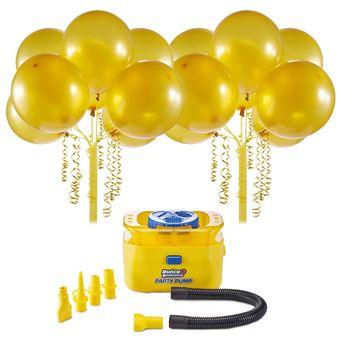 Bomba de Ar e Balões Dourados Bunch O Balloons Party