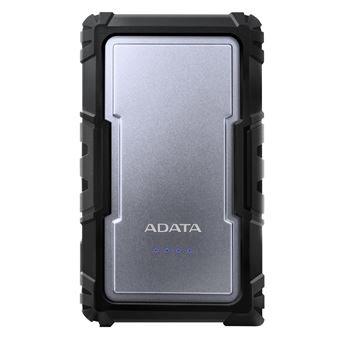 Power Bank ADATA D16750 16750 mAh Preto, Prateado