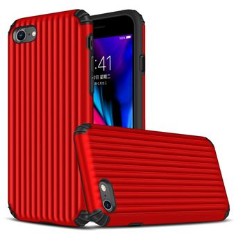 Capa Magunivers TPU mala em forma de híbrida à prova choque vermelho para Apple iPhone 8/7