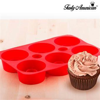 Forma de Silicone InnovaGoods para Cupcakes Tasty American