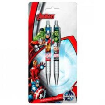 Conjunto 2 Canetas Vingadores Marvel