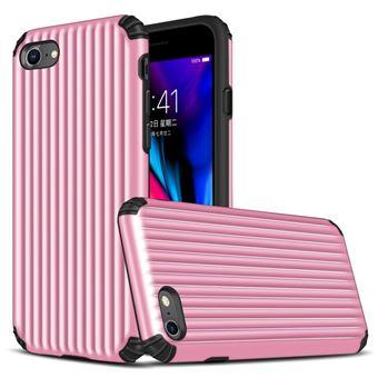 Capa Magunivers TPU mala em forma de híbrida à prova choque rosa para Apple iPhone 8/7