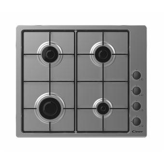 Placa de Cozinha a Gás Encastrável Candy CHW6LBX Inox