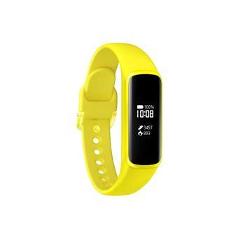 """Samsung Galaxy Fit e Rastreador de atividade para pulso Preto, Amarelo IP68 PMOLED 1,88 cm (0.74"""""""")"""