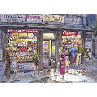 The Corner Shop Jigsaw Puzzle 500 Pieces Gibsons Games