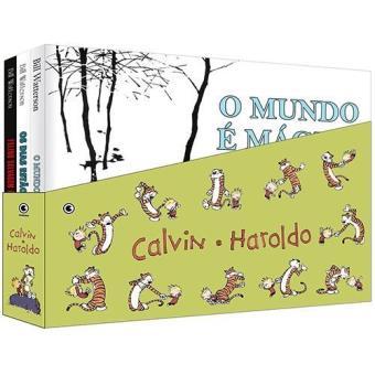 Calvin e Haroldo - Caixa com 3 Volumes