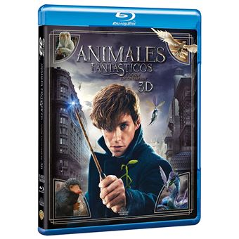 Fantastic Beasts And Where To Find Them 3d Animales Fantásticos Y Dónde Encontrarlos 2blu Ray Blu Ray Compra Filmes E Dvd Na Fnac Pt