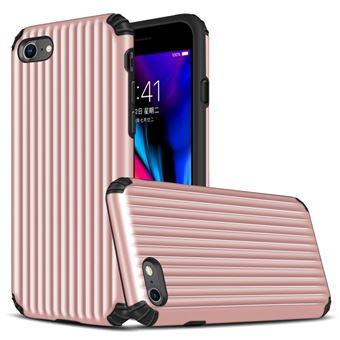 Capa Magunivers TPU mala em forma de híbrida à prova choque Dourado rosa para Apple iPhone 8/7