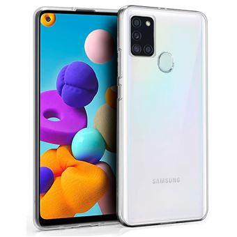 Capa Cool em Gel para Samsung Galaxy A21s - Transparente