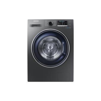 Máquina de Lavar Roupa Samsung WW80J5555FX/EC Isolado Carregamento frontal 8kg 1400RPM A+++ Inox