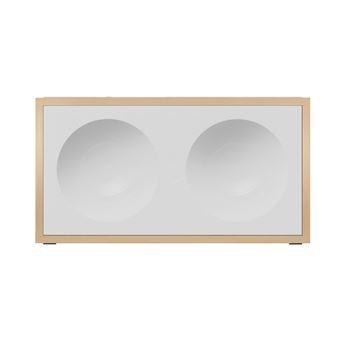 ONKYO NCP-302 altifalante 2-way Branco, Madeira Com fios e sem fios 3.5mm/Bluetooth