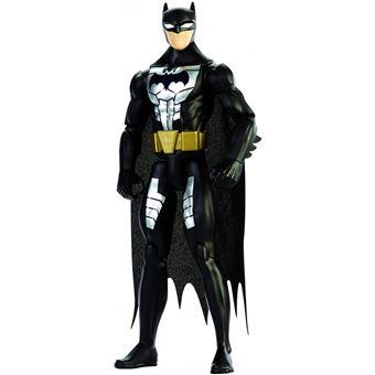 Figura De Ação Mattel Liga Da Justiça 12' Fig Nº8 Battle Ready Batman