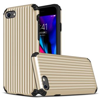 Capa Magunivers TPU mala em forma de híbrida à prova choque Dourado para Apple iPhone 8/7