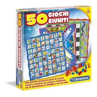 50 Giochi Riuniti Clementoni 12941
