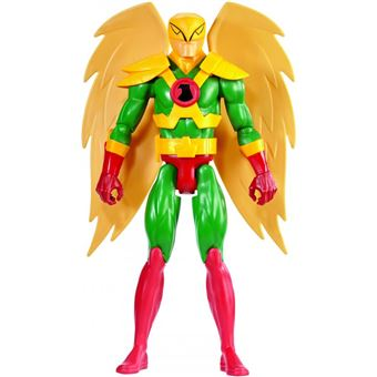 Figura De Ação Mattel Liga Da Justiça 12' Fig Nº9 Hawkman