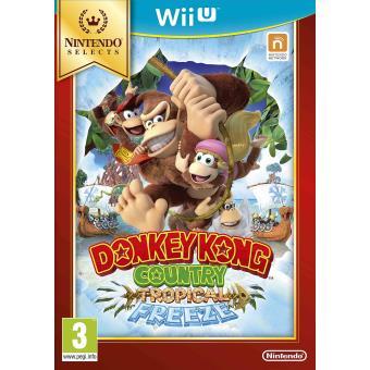 Donkey Kong Country: Tropical Freeze Select Nintendo Wii U