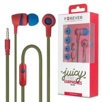 Auriculares Stereo Forever Com Fios Com Micro