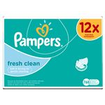 Pampers Fresh Clean 12 x 64 pcs