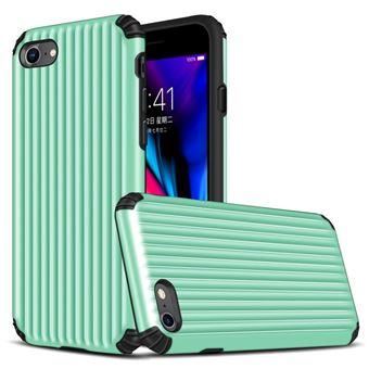 Capa Magunivers TPU mala em forma de híbrida à prova choque ciano para Apple iPhone 8/7