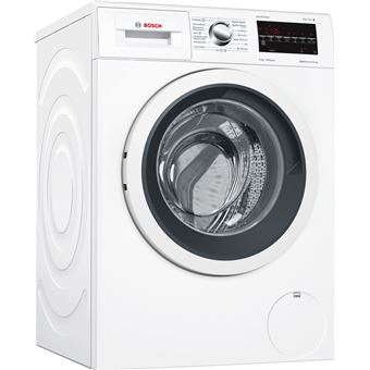 Máquina de Lavar Roupa Carga Frontal Bosch WAT28469ES 8Kg A+++ Preto, Branco