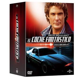 El Coche Fantastico Serie Completa X 4 Knight Rider Complete Season