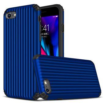Capa Magunivers TPU mala em forma de híbrida à prova choque azul escuro para Apple iPhone 8/7