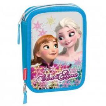 Mochila Frozen Troller Infantil Magic 3D Feminina Com