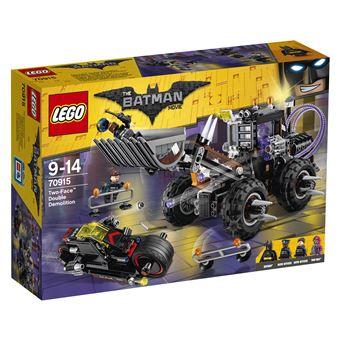 LEGO Batman DC Comics Two-Face Double Demolition 564peças 70915