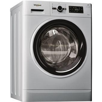 Máquina de Lavar e Secar Roupa Carga Frontal Whirlpool FWDG96148SBS 9Kg A Prateado