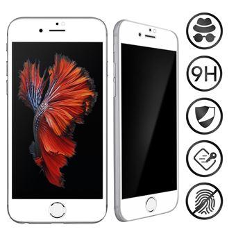Vidro Temperado Avizar para iPhone 6 Plus e 6S Plus | para Anti-Spy | 9H |Moldura Preta