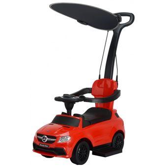Carro para Criança Andador Chipolino MERCEDES AMG GLE 63 | Pega e Capota - Vermelho