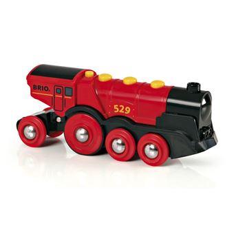 BRIO Mighty Red Action Locomotive Preto e Vermelho