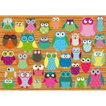 Owls Jigsaw Puzzle 500 Pieces Schmidt Spiele