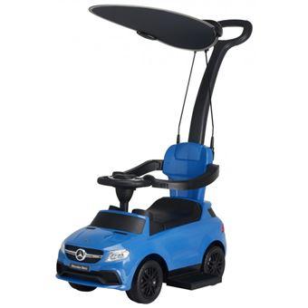 Carro para Criança Andador Chipolino MERCEDES AMG GLE 63 | Pega e Capota - Azul