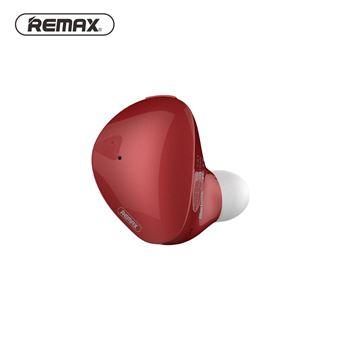 Auricular Mini Bluetooth Magunivers Xi9 Binaural TWS com Caixa de Carga Magnética Vermelho