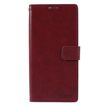 Capa PU lua azul vinho rojo para Samsung Galaxy A50
