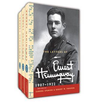 The Letters Of Ernest Hemingway Hardback Set Volumes 1-3 Volume 1-3