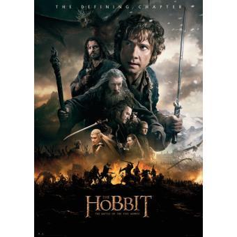 Poster Gigante GB Eye The Hobbit A Batalha dos Cinco Exércitos Fire100 x 140 cm