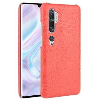 Capa Magunivers | TPU + PU pele de crocodilo Vermelho para Xiaomi Mi CC9 Pro/Mi Note 10/Mi Note 10 Pro