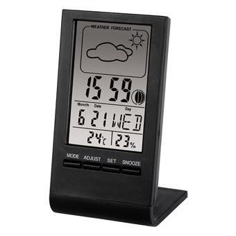 Estações meteorológicas digitais Hama TH-100 Preto Bateria