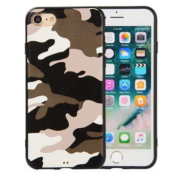 Capa Magunivers TPU padrão de camuflagem branco para Apple iPhone 8/7 4.7 inch