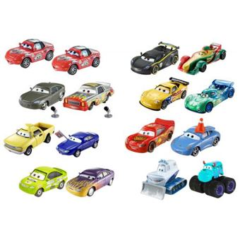 Pack 2 Carrinhos Mattel Cars 3