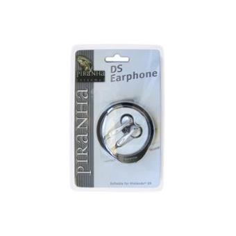 Auriculares Piranha Nintendo DS ear - phone Preto, Prateado