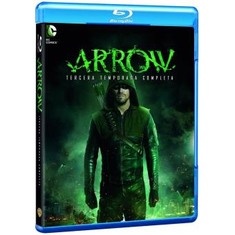 Arrow Temporada 3 Blu-Ray