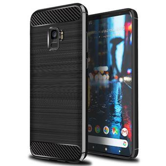 Capa Advansia para Samsung Galaxy A6 2018 Plus Capa protetor TPU Ultra Fino Silicone Carbone