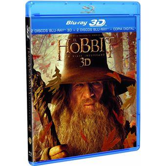 The Hobbit: An Unexpected Journey (3D + 2D) / Hobbit: Un Viaje Inesperado (4Blu-ray)